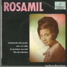 Discos de vinilo: ROSAMIL EP SELLO COLUMBIA AÑO 1966 EDITADO EN ESPAÑA. Lote 66487682