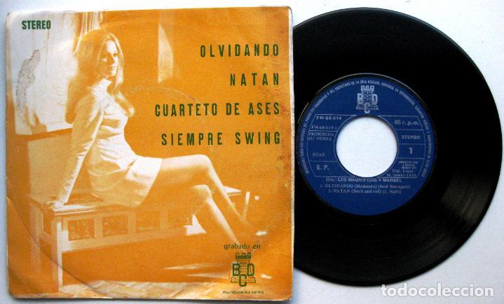 ORQUESTA LOS MAGNIFICOS Y MARBEL - SIEMPRE SWING + 3 - EP BCD PROMO 1974 BPY (Música - Discos de Vinilo - EPs - Grupos Españoles de los 70 y 80)