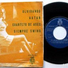Discos de vinilo: ORQUESTA LOS MAGNIFICOS Y MARBEL - SIEMPRE SWING + 3 - EP BCD PROMO 1974 BPY. Lote 66522142