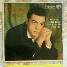Discos de vinilo: MARIO LANZA (LOTE 2 EPS. 1959-61) (BUEN ESTADO) AVE MARIA - GRANADA - VALENCIA -TROVATORE - TURANDOT. Lote 60433966