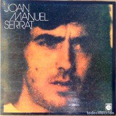Disques de vinyle: JOAN MANUEL SERRAT : JOAN MANUEL SERRAT [ESP 1974] LP/GAT. Lote 66735942
