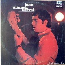 Disques de vinyle: JOAN MANUEL SERRAT : ARA QUE TINC VINT ANYS [ESP 1967] LP. Lote 66738926