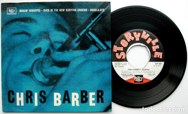 CHRIS BARBER JAZZBAND - MAKIN' WHOPEE - EP STORYVILLE 1955 DINAMARCA BPY (Música - Discos de Vinilo - EPs - Jazz, Jazz-Rock, Blues y R&B)