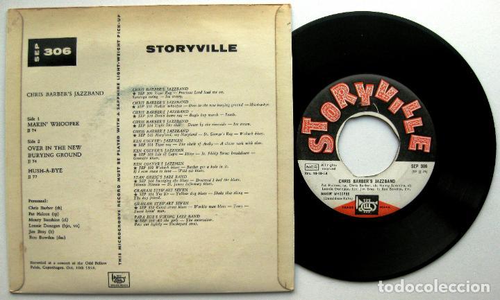 Discos de vinilo: Chris Barber Jazzband - Makin Whopee - EP Storyville 1955 Dinamarca BPY - Foto 2 - 66746158