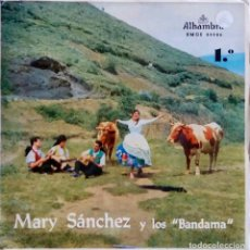 Discos de vinilo: MRY SANCHEZ Y LOS BANDADA.TARTANERO.EP PORTADA ABIERTA. Lote 66749474