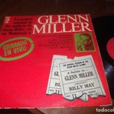 Discos de vinilo: HOMENAJE A GLEN MILLER-LP- DISCOPHON-1974-DIRECTO-. Lote 66753574