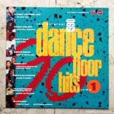 Discos de vinilo: LP THE ORIGINAL 1990 - DANCE FLOOR HITS VOLUMEN 1 - VIRGIN 1989.. Lote 66768810