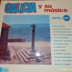 Discos de vinilo: GALICIA Y SU MUSICA, LP,1967 REGAL-EMI, COMO NUEVO. Lote 66770442