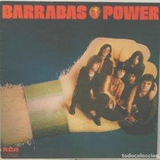 Discos de vinilo: BARRABAS POWER LP CARPETA ABIERTA RCA 1973. Lote 66770554