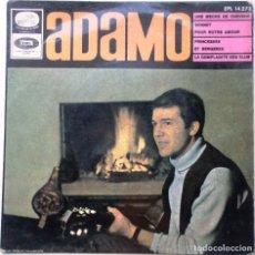 Discos de vinilo: UN DISCO DE VINILO DE ADAMO ''UNE MECHE DE CHEVEUX'' ES UN EPS DE 4 CANCIONES DEL AÑO 1966. Lote 66779330