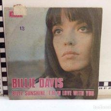 Discos de vinilo: BILLIE DAVIS - BILLY SUNSHINE (M). Lote 66780102