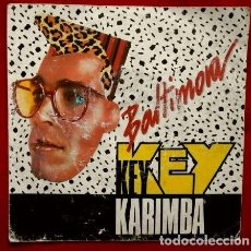 Discos de vinilo: BALTIMORA (SINGLE EMI 1987) KEY KEY KALIMBA - MAURIZIO BASSI. Lote 66785198