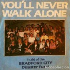 Discos de vinilo: THE CROWD (SINGLE UK ENGLAND 1985) YOU´LL NEVER WALK ALONE / MESSAGES - BRAD1. Lote 66785338