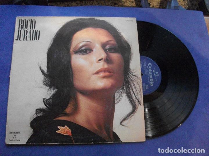 ROCIO JURADO LP COLUMBIA CPS 9110 1971 PEPETO (Música - Discos - LP Vinilo - Flamenco, Canción española y Cuplé)