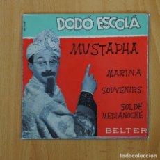 Discos de vinilo: DODO ESCOLA - MUSTAPHA + 3 - EP. Lote 66808347