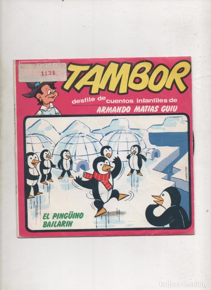DESFILE DE CUENTOS INFANTILES DE ARMANDO MATIAS GUIU-TAMBOR + EL PINGÜINO BAILARIN SINGLE VINILO.DA (Música - Discos - Singles Vinilo - Música Infantil)