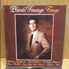 Discos de vinilo: PLÁCIDO DOMINGO. TANGO. LP / POLYDOR - 1981 / CALIDAD LUJO. ****/****. Lote 66842542