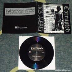 Discos de vinilo: CORRUPTED / ENEMY SOIL - SPLIT - 7'' [HG FACT, 1997]. Lote 66862866