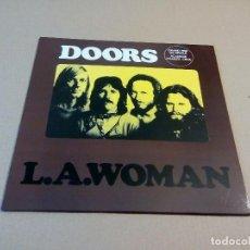 Disques de vinyle: THE DOORS - L.A. WOMAN (LP REEDICIÓN) NUEVO. Lote 222391398