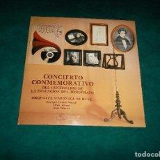 Discos de vinilo: CENTENARIO COMMEMORATIVO DE LA INVENCION DEL FONOGRAFO. MINISTERIOA DE CULTURA 1977. Lote 66869658
