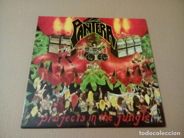 PANTERA - PROJECTS IN THE JUNGLE (LP REEDICIÓN) NUEVO (Música - Discos - LP Vinilo - Heavy - Metal)