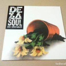 Discos de vinilo: DE LA SOUL - DE LA SOUL IS DEAD (LP REEDICIÓN) NUEVO. Lote 151305640