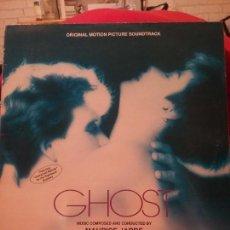 Discos de vinilo: MAURICE JARRE ?– GHOST (ORIGINAL MOTION PICTURE SOUNDTRACK). Lote 66874722