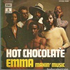Discos de vinilo: HOT CHOCOLATE SINGLE SELLO EMI-ODEON AÑO 1974 EDITADO EN ESPAÑA. Lote 66886066