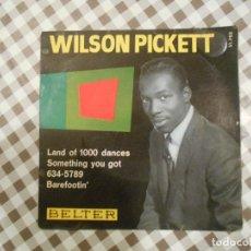 Discos de vinilo: WILSON PICKETT LAND OF 1000 DANCES, BELTER. Lote 66894358