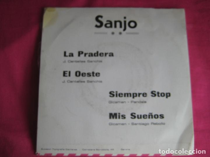Discos de vinilo: SANJO GRABACIONES KEYTUR EP BARNAFON PRIVADO 1976 la pradera/ el oeste/ siempre stop +1 groove jazzy - Foto 2 - 87090711