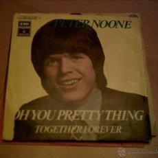 Disques de vinyle: PETER NOONE-. Lote 45852471