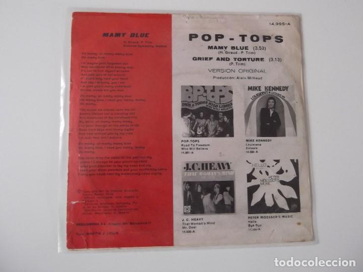 Discos de vinilo: POP-TOPS - Mamy blue - Foto 2 - 66918746