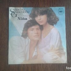Discos de vinilo: SINGLE SANDRO GIACOBBE, CBS 5785 AÑO 1977. Lote 66927206