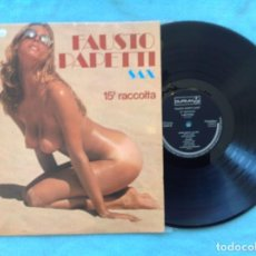 Discos de vinilo: LOTE DE LAS 25 EDICIONES DE FAUSTO PAPETTI 1977 Y 1978. Lote 66934058