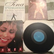 Discos de vinilo: IKE & TINA TURNER LP RECOPILATORIO RARO.. Lote 66946614