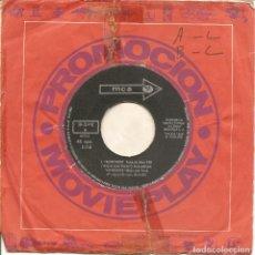 Discos de vinilo: VINCENT BELL - AEROPUERTO-TEMA DE AMOR/MARILYN'S THEME - MCA RECORDS - SN-20.470 SPAIN PROMO. Lote 66964542