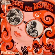 Discos de vinilo: LOS SALVAJES . JUDY CON DISFRAZ. SINGLE ESPAÑA. Lote 67006758