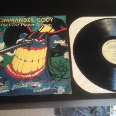 Discos de vinilo: COMMANDER CODY & THE LOST PLANET AIRMEN ?– SLEAZY ROADSIDE STORIES LP RELIX RECORDS ?– RRLP 202 USA. Lote 67022890