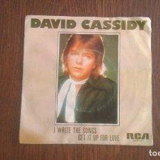 Discos de vinilo: SINGLE DAVID CASSIDY, RCA XB-01007 AÑO 1975. Lote 67030130