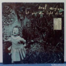 Discos de vinilo: SOUL ASYLUM - LET YOUR DIM LIGHT SHINE VINYL 1995. Lote 67032795