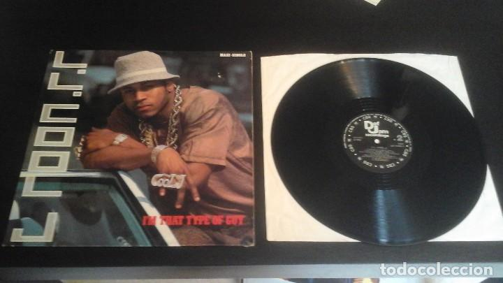 L.L. COOL J ?– I'M THAT TYPE OF GUY MAXI DEF JAM RECORDINGS ?– DEF 654945 6 (Música - Discos de Vinilo - EPs - Rap / Hip Hop	)