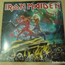 Discos de vinilo: IRON MAIDEN. SINGLE. RUN TO THE HILLS. Lote 67038846