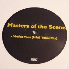 Disques de vinyle: MASTERS OF THE SCENE - VOULEZ VOUS - 2006. Lote 67044314