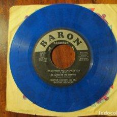 Discos de vinilo: RAREZA-EP GUITAR JOHNNY AND THE RHYTHM ROCKERS-BARON RECORDS. Lote 67048930