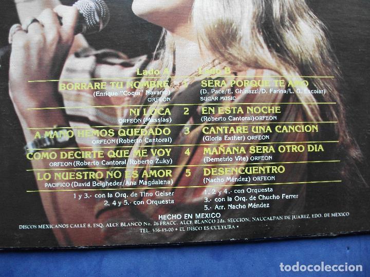 Discos de vinilo: LUPITA D ALESSIO LP ORFEON LP-16H-5298 DISCOS MEXICANOS 1982 CARTON USA PEPETO - Foto 2 - 67052486