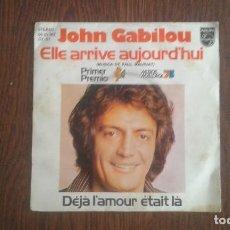 Discos de vinilo: SINGLE JOHN GABILOU, FONOGRAM 60 29 302 GT.1 AÑO 1975. Lote 67053582