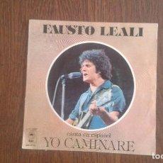 Discos de vinilo: SINGLE FAUSTO LEALI, EPIC EPC 5287 AÑO 1977. Lote 67054114