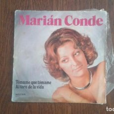 Discos de vinilo: SINGLE MARIÁN CONDE, BELTER 08.472 AÑO 1975. Lote 67072894