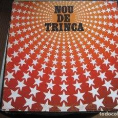 Discos de vinilo: LA TRINCA - NOU DE TRINCA - LP ARIOLA 1981. Lote 67079489