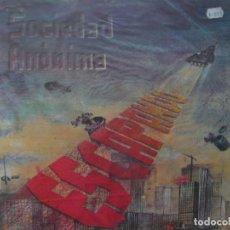Discos de vinilo: SOCIEDAD ANONIMA. ESCAPANDO + 3 FEROZ FZ-002 M MINI LP 1984 SPAIN. Lote 67082229